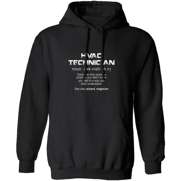 HVAC Tech Definition T-Shirt CustomCat