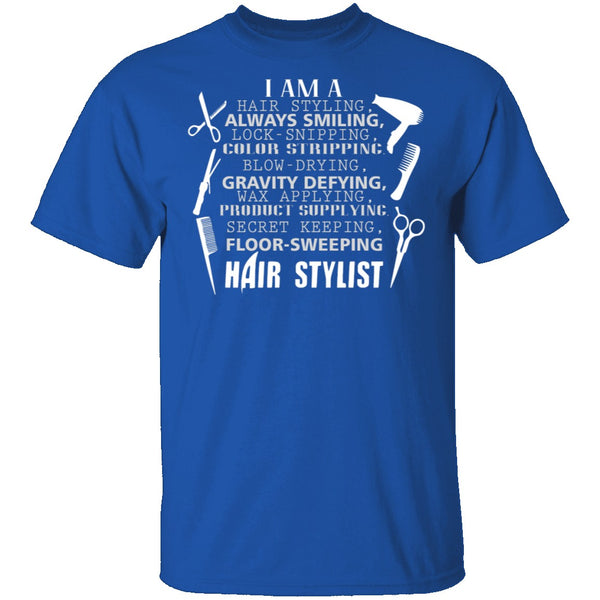 Hair Stylist T-Shirt CustomCat