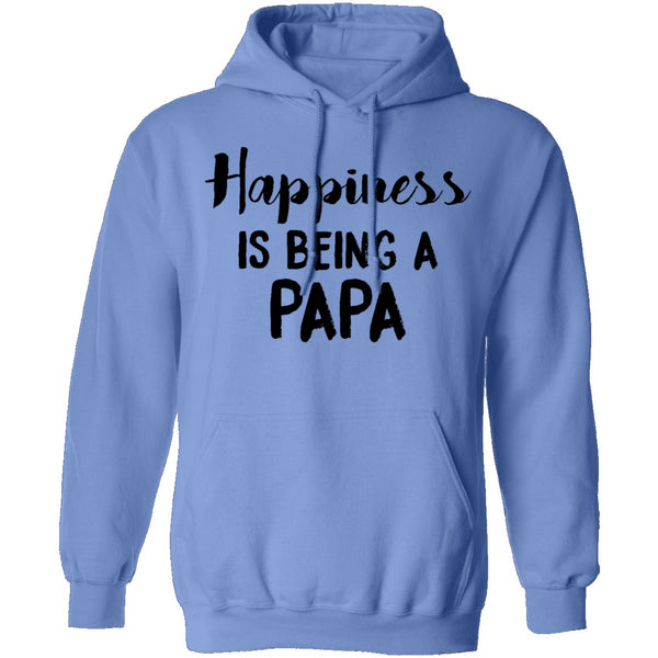 Happiness Is Being A Papa T-Shirt CustomCat