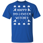 Happy Halloween Witches T-Shirt CustomCat