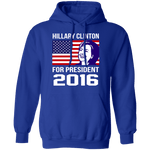 Hillary Clinton Smile For President T-Shirt CustomCat