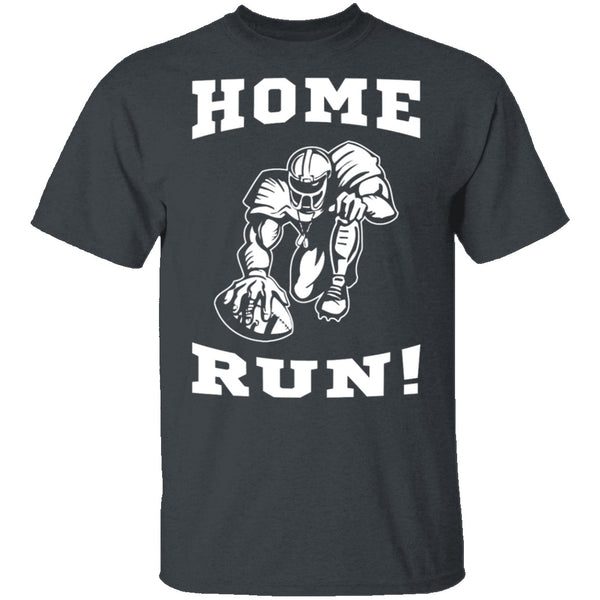 Home Run Football T-Shirt CustomCat