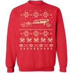 Hot Rod Ugly Christmas Sweater CustomCat