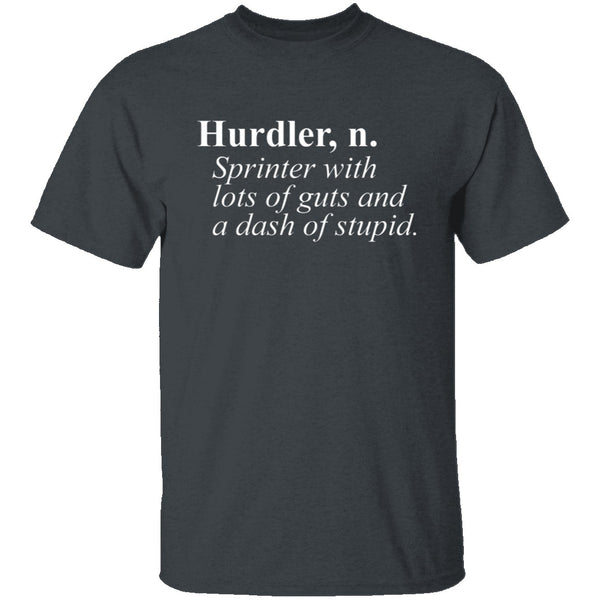 Hurdler Definition T-Shirt CustomCat