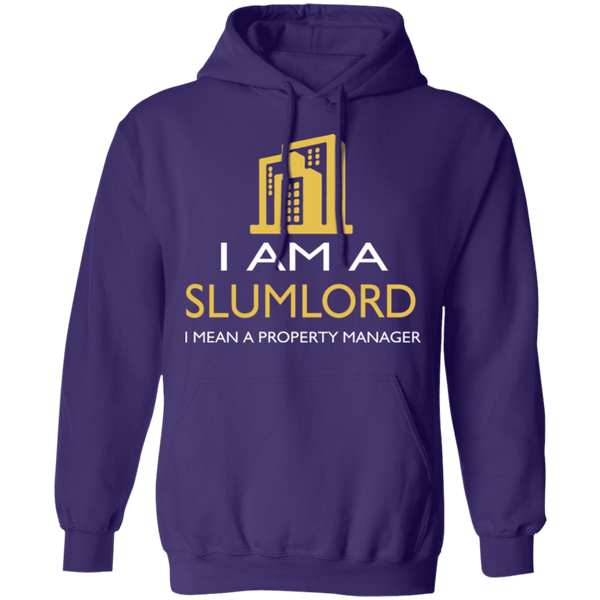 I Am A Slumlord T-Shirt CustomCat