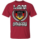 I Am German T-Shirt CustomCat