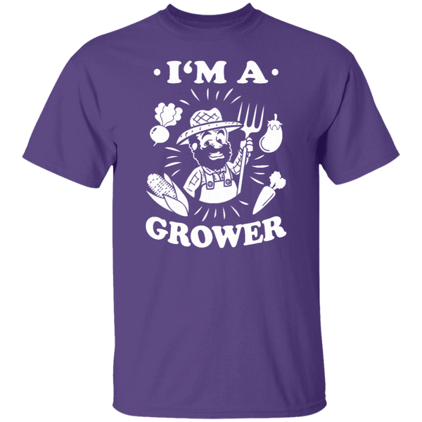 I'm A Grower T-Shirt CustomCat
