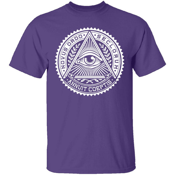 Illuminati T-Shirt CustomCat