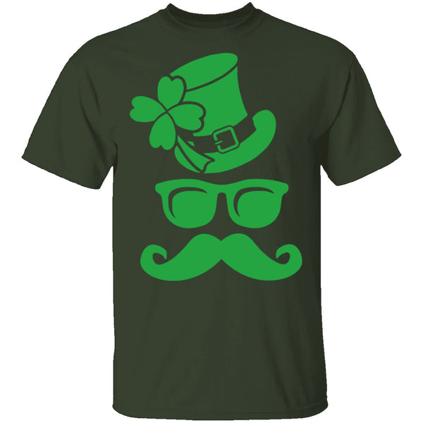 Irish Sunglasses T-Shirt CustomCat