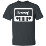 Jeep Beer T-Shirt CustomCat