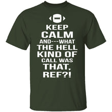 Keep Calm Football T-Shirt