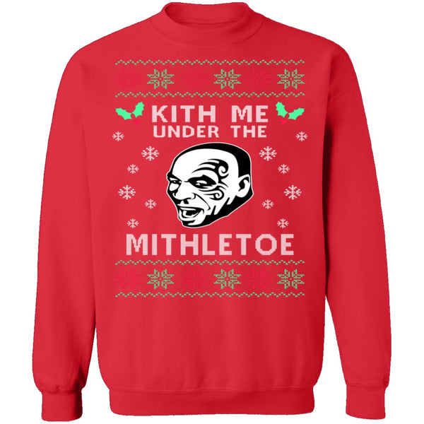 Kith Me Ugly Christmas Sweater CustomCat