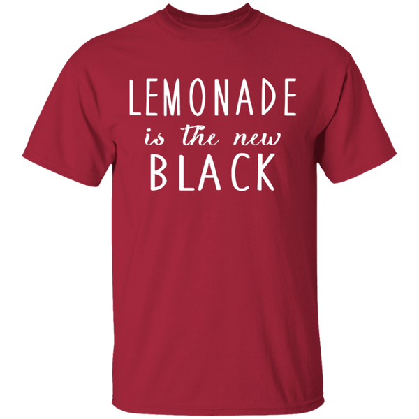 Lemonade Is The New Black T-Shirt CustomCat