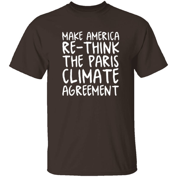 Make America Re-Think Again T-Shirt CustomCat