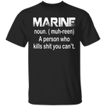 Marine T-Shirt CustomCat