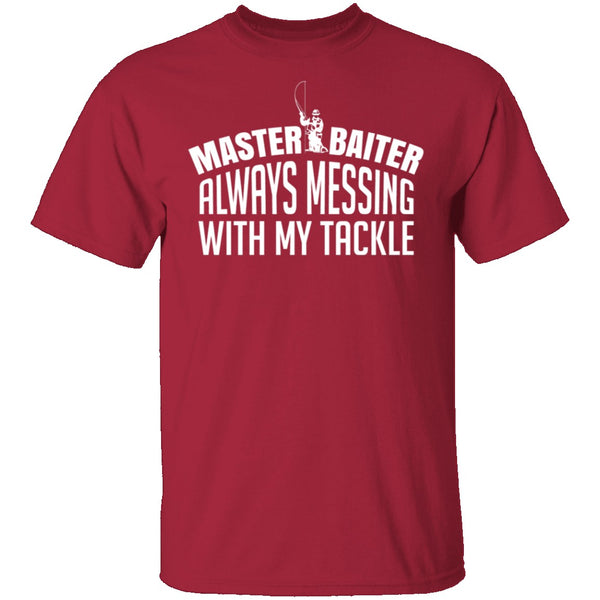 Master Baiter T-Shirt CustomCat