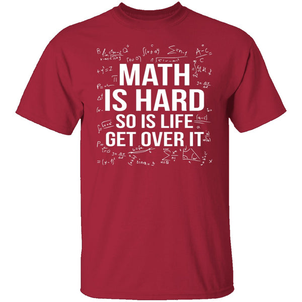Math Is Hard T-Shirt CustomCat
