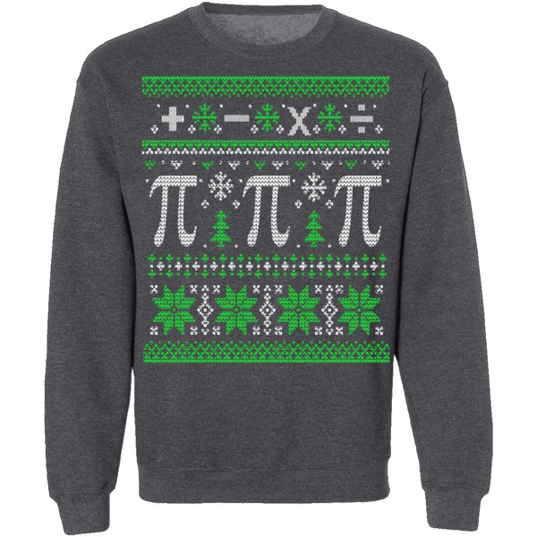 Math Ugly Christmas Sweater CustomCat