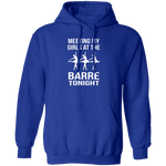Meeting My Girls At The Barre Tonight T-Shirt CustomCat