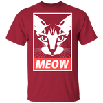 Meow T-Shirt CustomCat