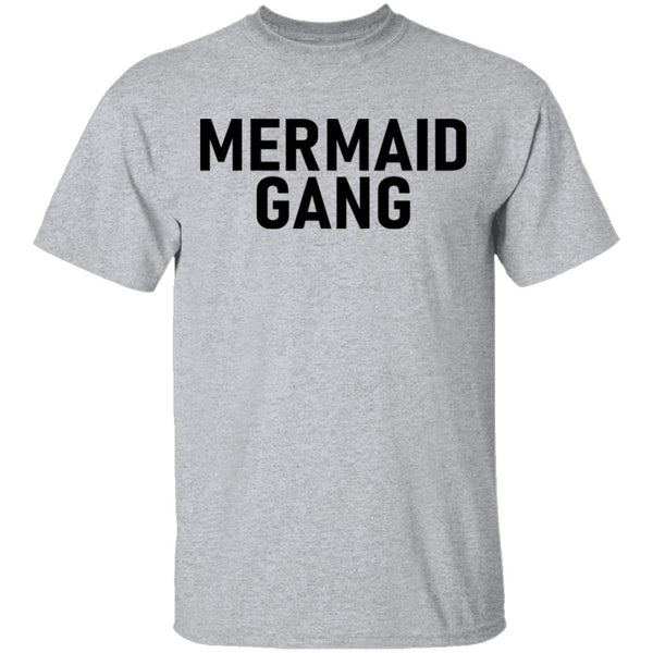 Mermaid Gang T-Shirt CustomCat