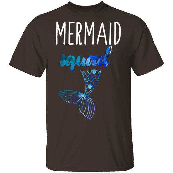 Mermaid Squad T-Shirt CustomCat