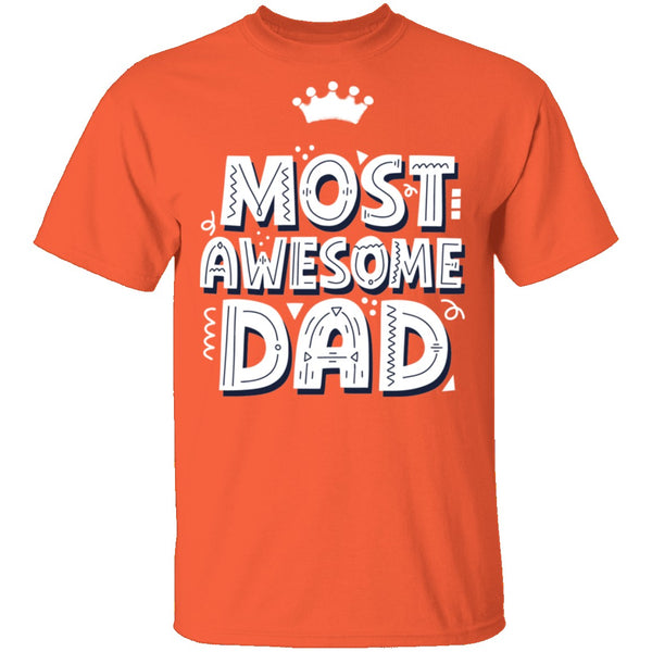 Most Awesome DAD with Crown CustomCat