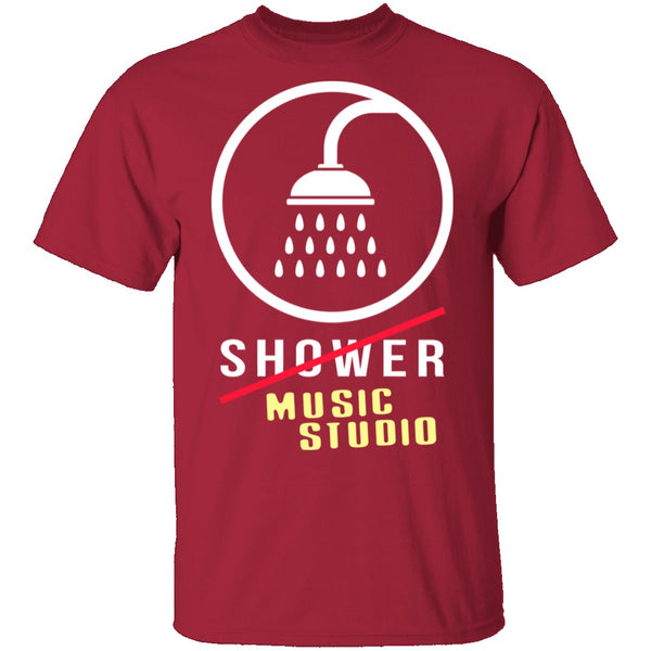 Music Studio T-Shirt CustomCat