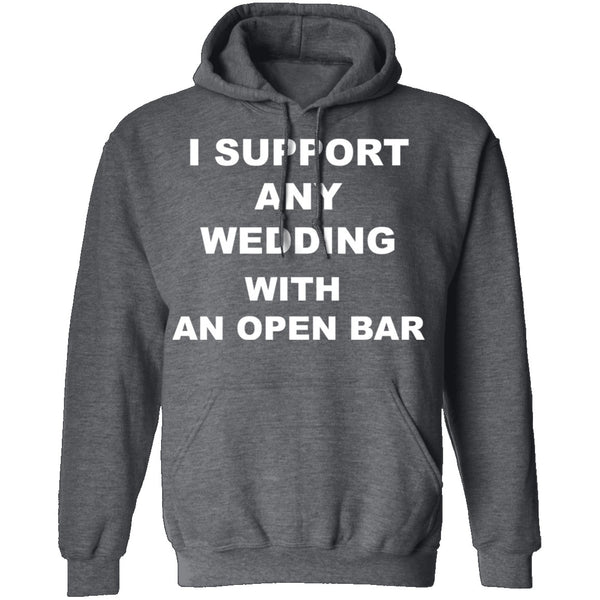 Open Bar Support T-Shirt CustomCat
