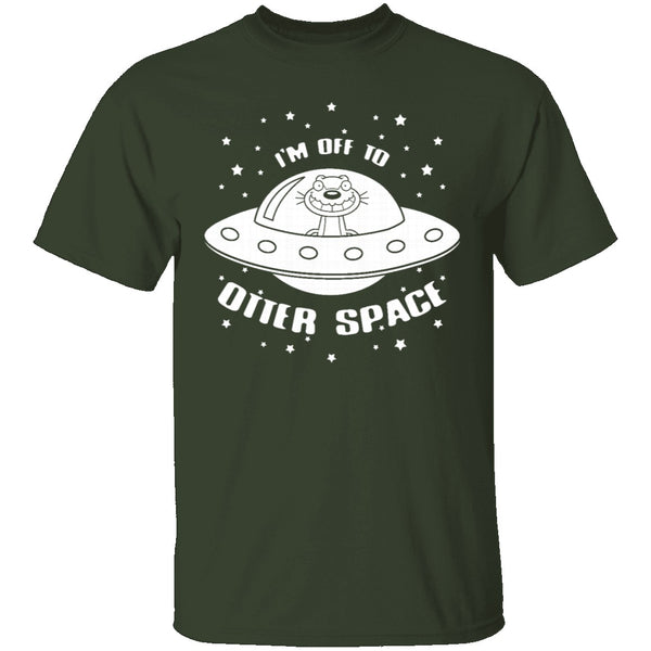 Otter Space T-Shirt CustomCat