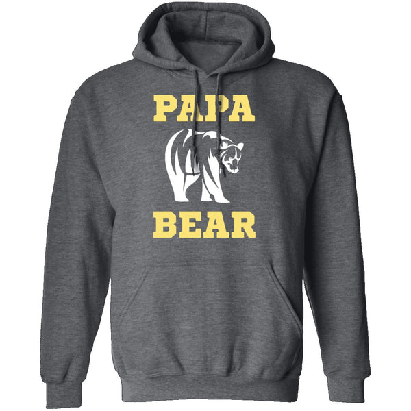 Papa Bear T-Shirt CustomCat