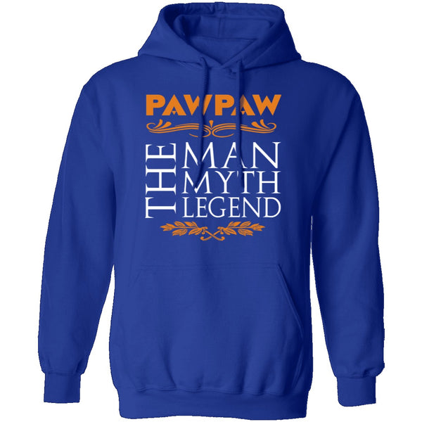 PawPaw The Man The Myth The Legend T-Shirt CustomCat