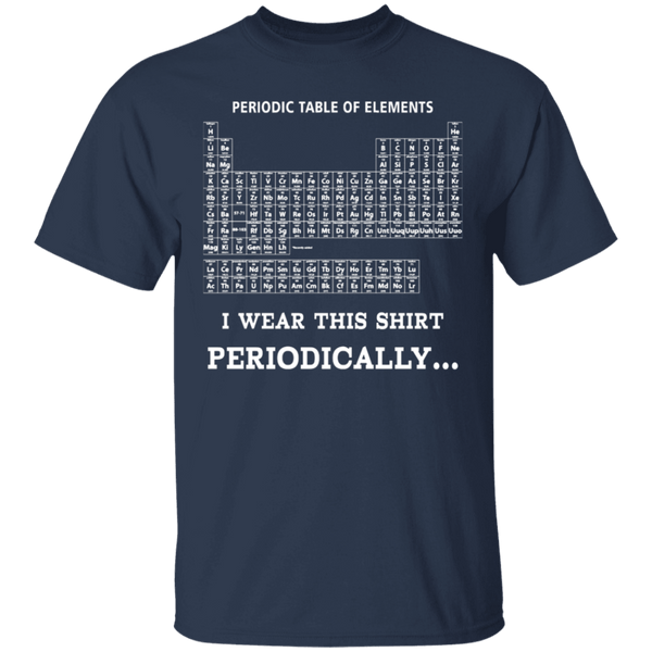 Periodic Table T-Shirt CustomCat