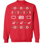Photography Ugly Christmas Sweater CustomCat