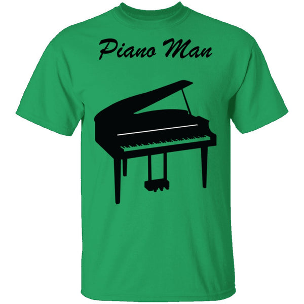 Piano Man T-Shirt CustomCat