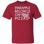 Pineapple Pizza T-Shirt CustomCat