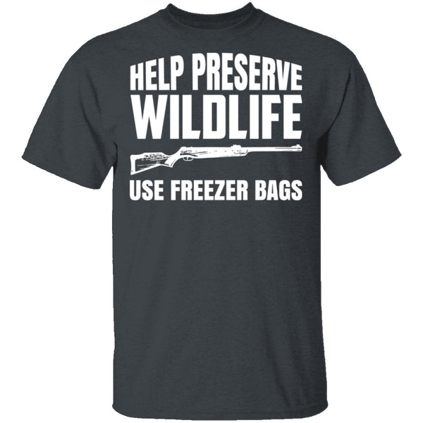 Preserve Wildlife T-Shirt CustomCat