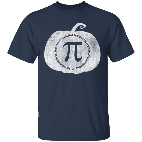 Pumpkin Pi T-Shirt CustomCat