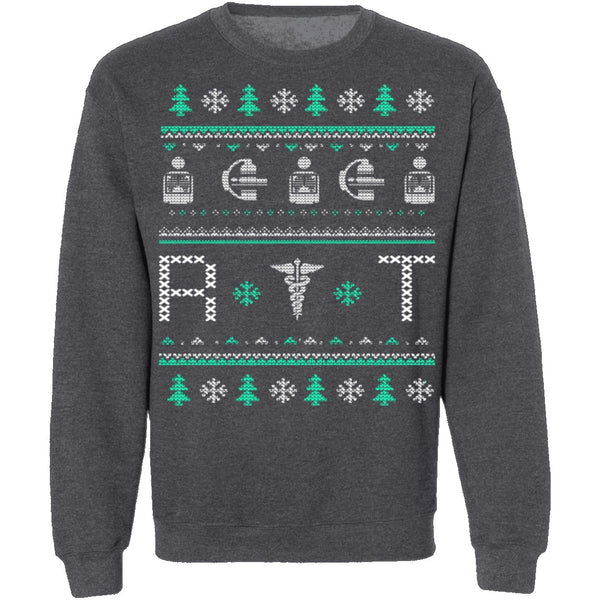 Radiologist Ugly Christmas Sweater CustomCat