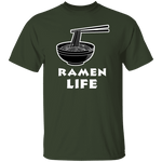 Ramen Life T-Shirt CustomCat
