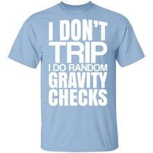 Random Gravity Checks T-Shirt