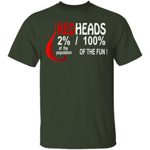 Red Heads 100% Fun T-Shirt