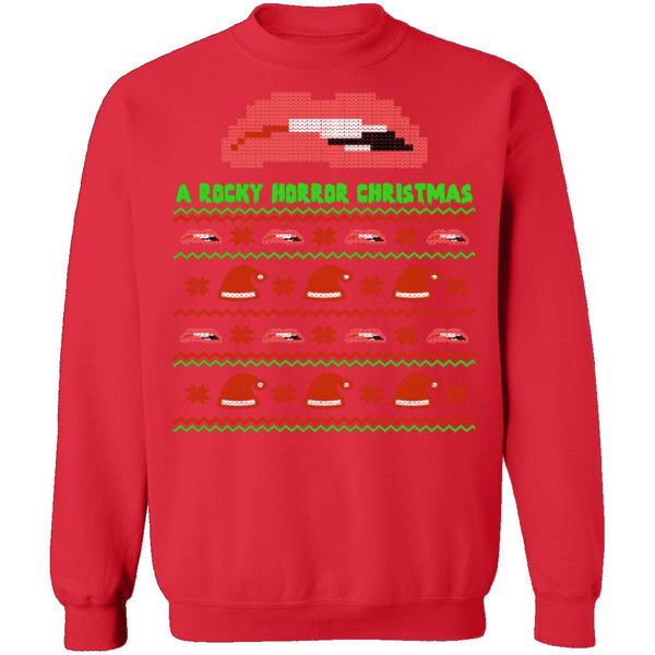 Rocky Horror Ugly Christmas Sweater CustomCat