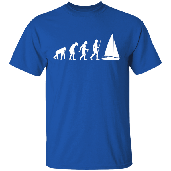 Sailing Evolution T-Shirt CustomCat
