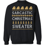 Sarcastic Ugly Christmas Sweater CustomCat