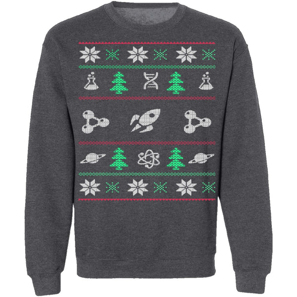 Science Ugly Christmas Sweater CustomCat