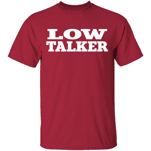 Seinfeld Low Talker T-Shirt CustomCat