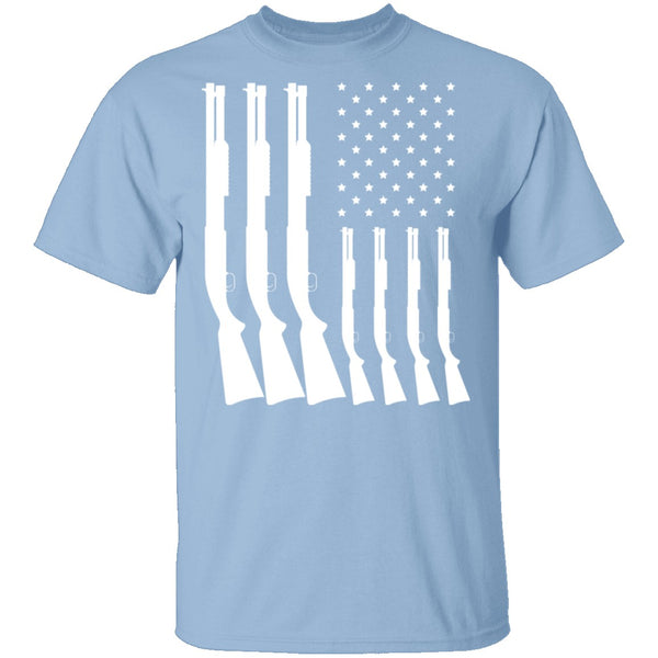 Shotgun Flag T-Shirt CustomCat