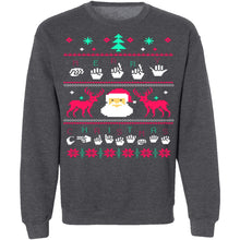 Sign Language Ugly Christmas Sweater