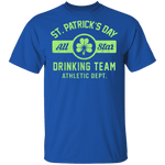 St. Patricks Day Drinking Team T-Shirt CustomCat
